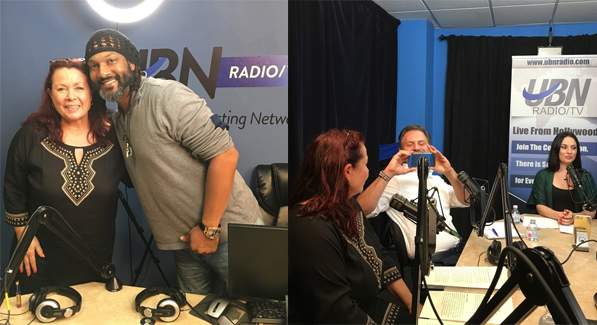 Astrid Arens bei UBN Radio/TV