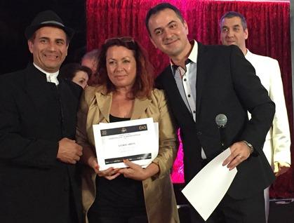 Gewinnerin Olympia Award 2016